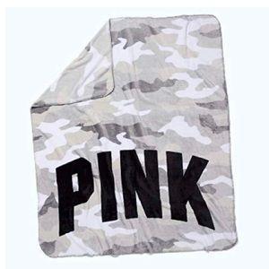 Victoria'S Secret Pink Soft Fleece Blanket
